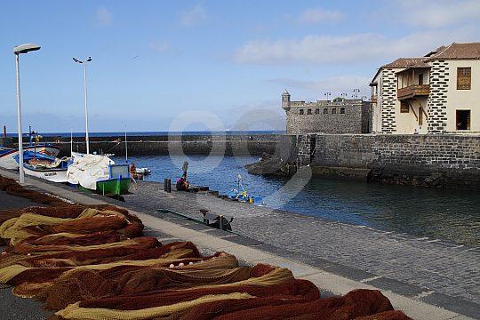Puerto de la Cruz fishing port