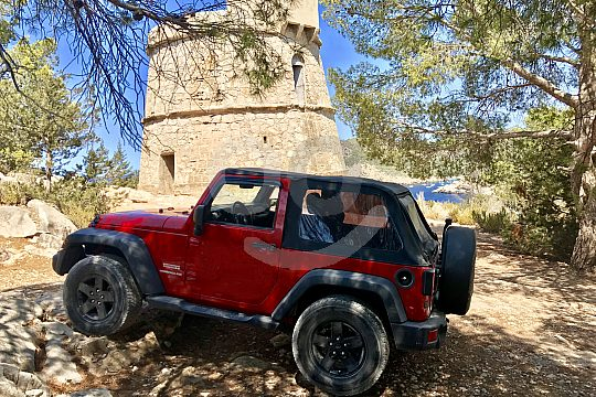 Jeep Tour in Ibiza
