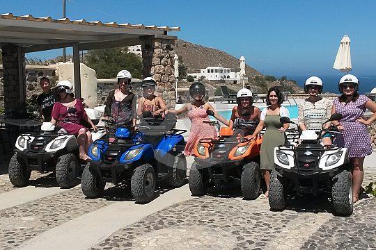 Quad Tour Santorini