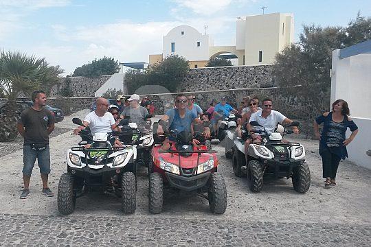 quad rental in Santorini