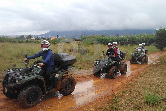excursion by quad in Dénia