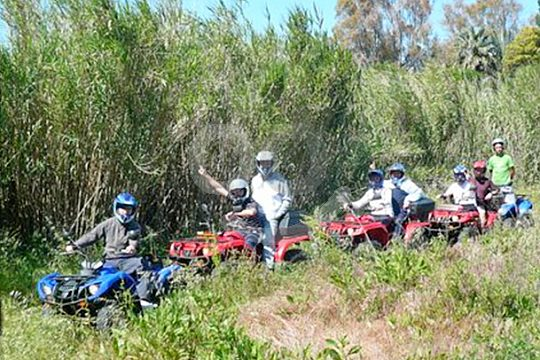 Tour by quad from Dénia