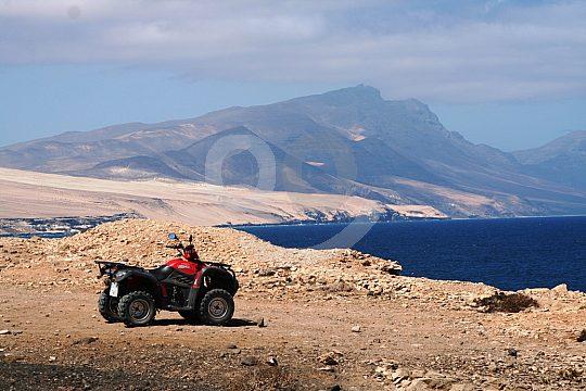 Quad ride Fuerteventura Corralejo