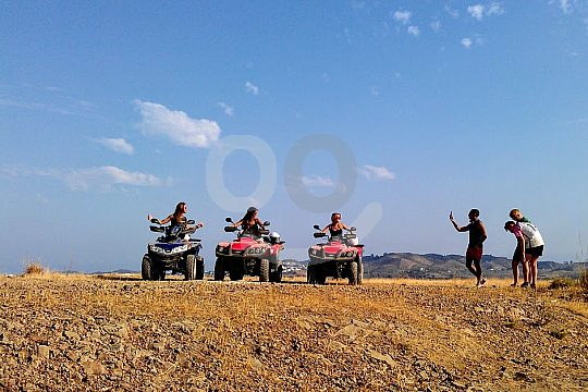 with the ATV in Fuengirola