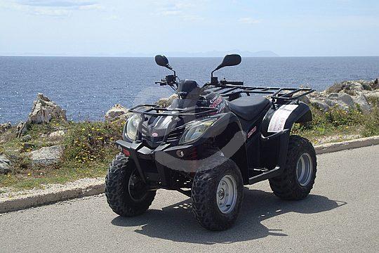 Quad Tour along the south coast of Menorca