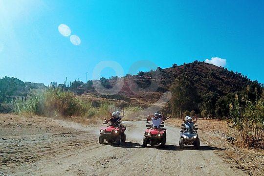 the quad rental in Fuengirola