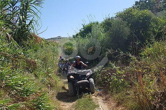 Quad Tour nach Monte Sara