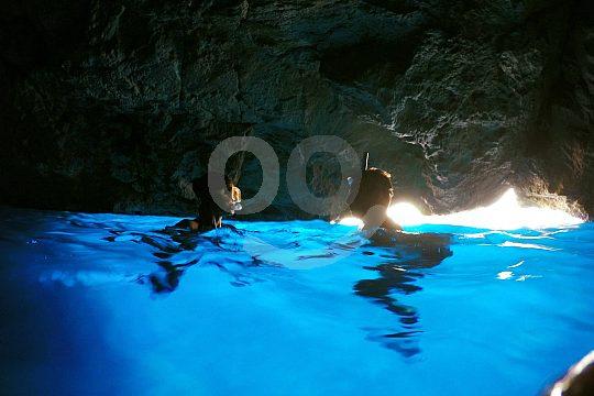 Blue Cave in Mallorca