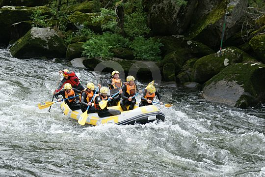 On the rapids of the Ulla