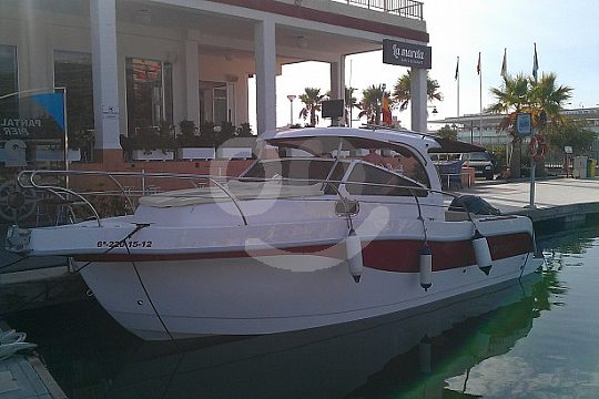 motor boat charter at the Costa Blanca
