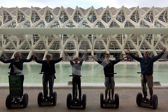 architectural Segway tour in Valencia