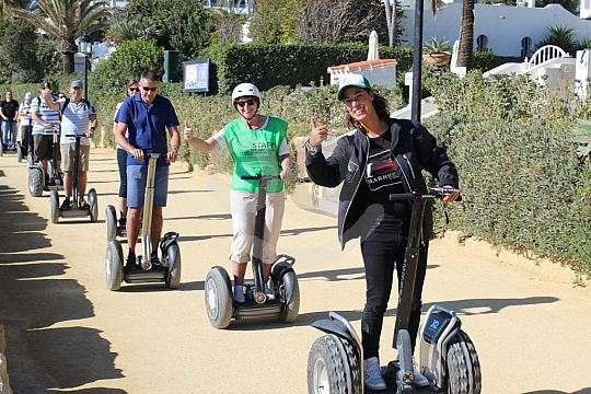 the Segway tour from Puerto Banús