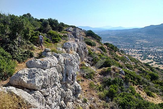 Climbing and abseiling in Rhodes