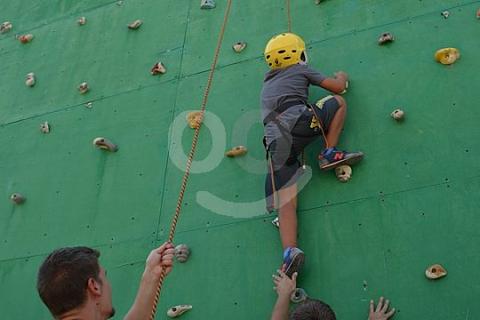climbing for children in Andalusia