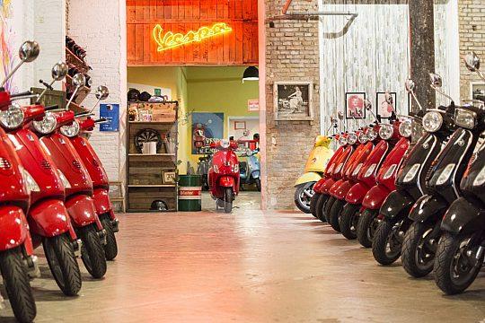 Barcelona scooter rental