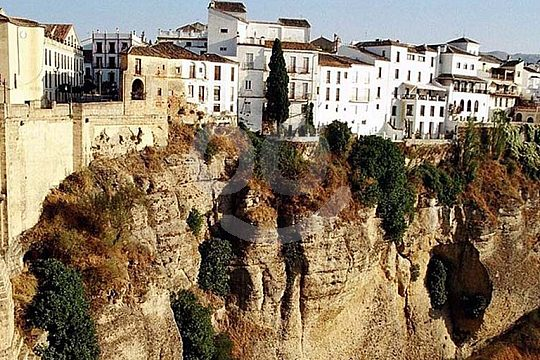 View of Ronda day trip from Seville