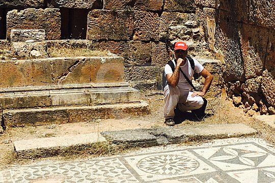 Ruins of Lissos on Crete