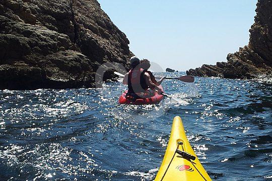 Barcelona kayaking with guide