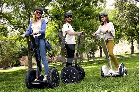 Explore parks in Valencia by Segway