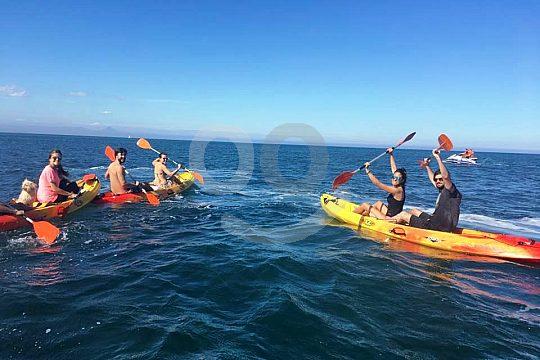 Kayak tour from Valencia