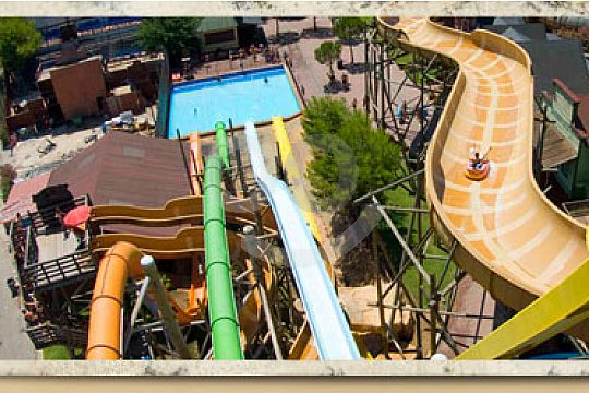Slides in Western Water Park Mallorca