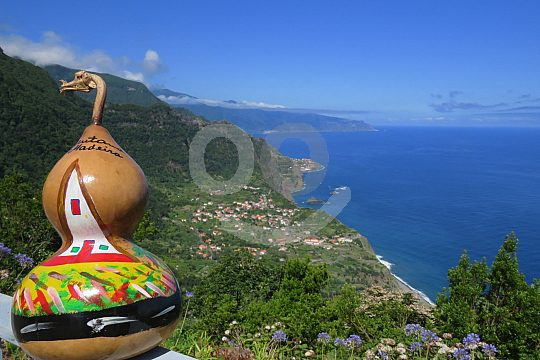 Sao Jorge in Madeira during the 4x4 tour