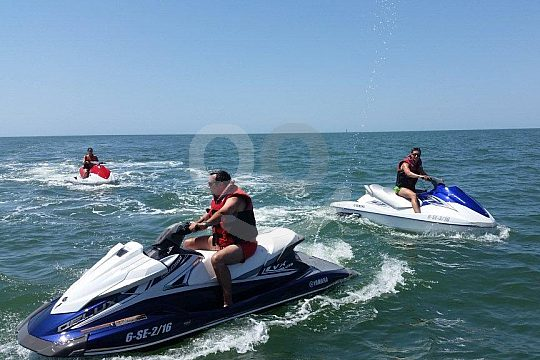 Jetskis with guide