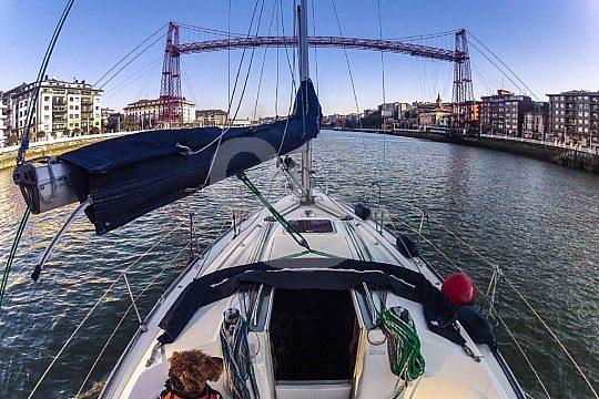 sailing trip in Bilbao