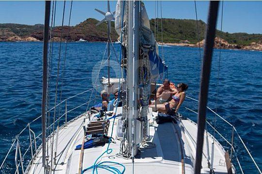 Fornells sailing excursion