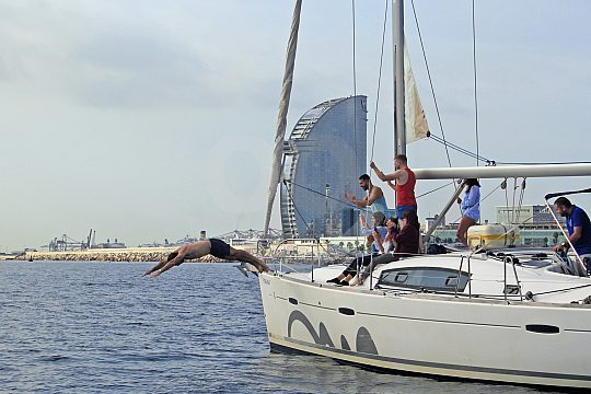 private sailing trip from Blanes