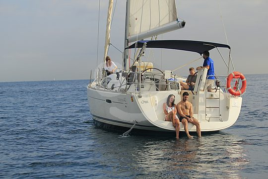 Costa Brava sailing
