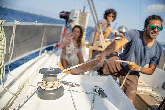 Segelerlebnis Formentera mit Freunden