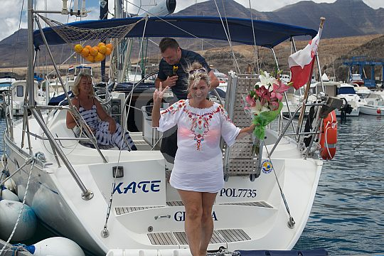 Exclusive sailing in the south of Fuerteventura