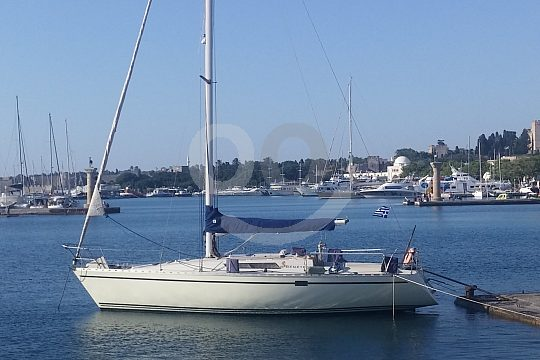 sailing trip in Rhodes with start in Mandraki harbour