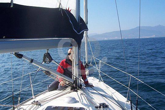sailing tour in Bilbao at the Basque coast