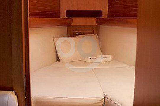 cabin in the sailboat