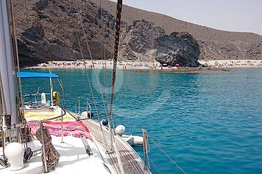 Enjoy a sailing trip from Aguilas