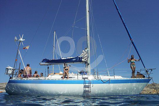 sailing tour in Menorca