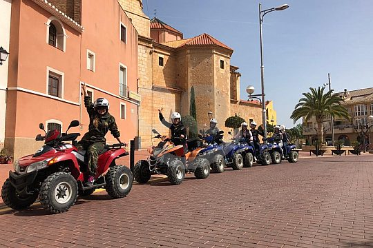 By quad with guide from Salou