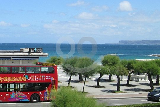 Tickets for the City Sightseeing Bus Santander