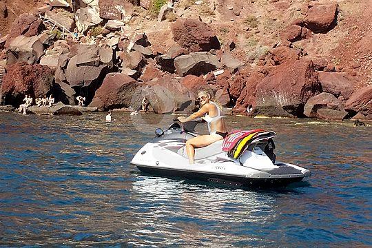 Jet ski hire Santorini