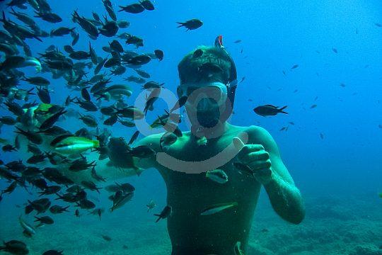 snorkel crete chania