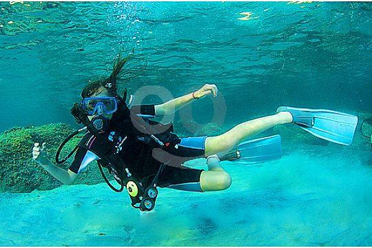 Santa Ponsa first scuba diving experience