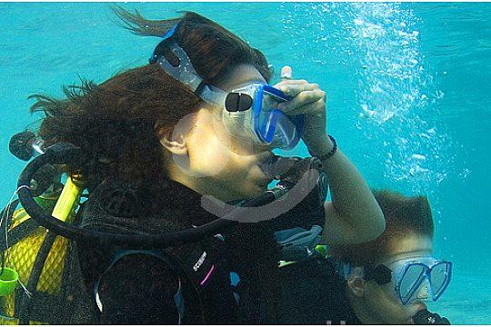 diver at the scuba dive centre in Santa Ponsa