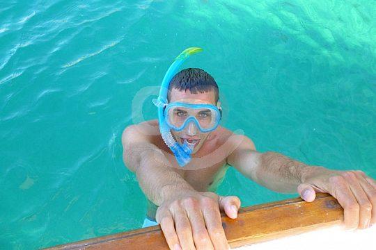 snorkeling in Portocolom