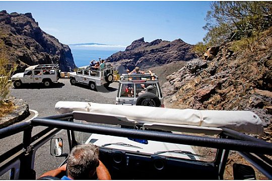 Great views at the Jeep Safari in Tenerife
