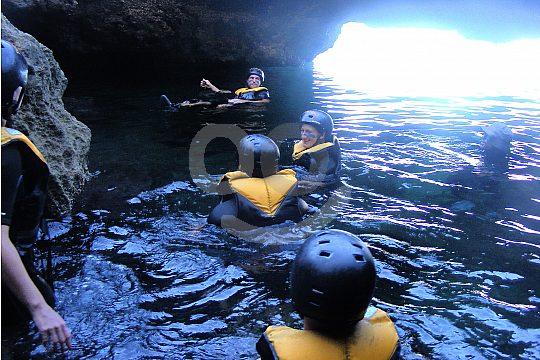 cave group treasure hunt Alcudia