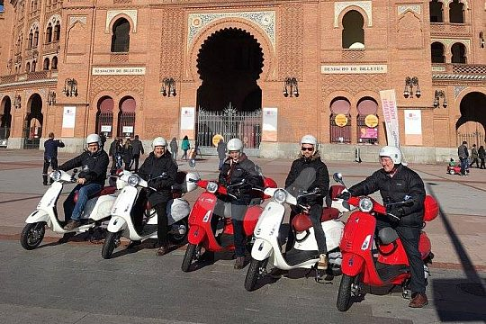 hire a scooter in Madrid