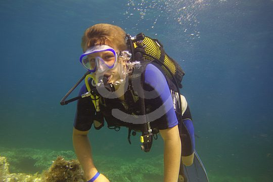 Learn to dive holidays in Menorca
