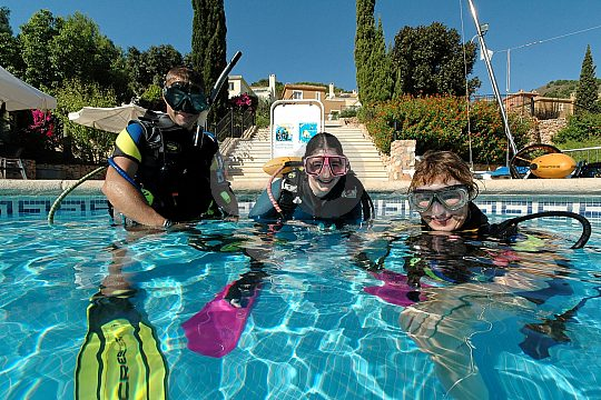 trial dive Mar Menor
